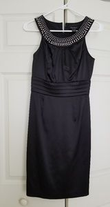White House Black Market Satin Cocktail Dress